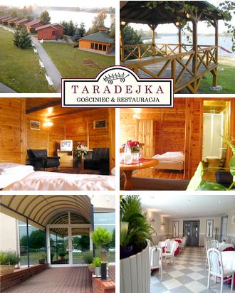 Übernachtung in Polen Gasthaus Taradejka Karte